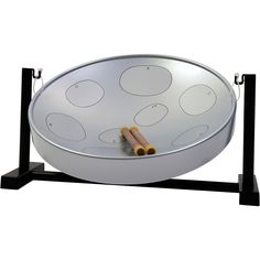 Panyard Jumbie Jam Steel Drum Table Top Stand Silver G Diatonic Drum Chair, Drum Table, Drum Musical Instrument, Audio Track, Drum Lessons, Steel Drum, Drum Kits, Music Therapy, Music Classroom