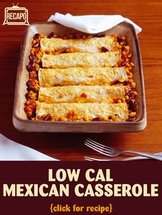 Dr Oz Healthy Casserole Cook-Off: Mexican Tortilla Casserole Recipe Healthy Eating Recipes, Low Calorie Recipes, Mexican Food Recipes, Eat Healthy, Low Cal Dinner, Crockpot Recipes, Cooking Recipes, Good Food, Yummy Food