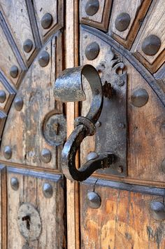 Antique Door pull Very beautiful door