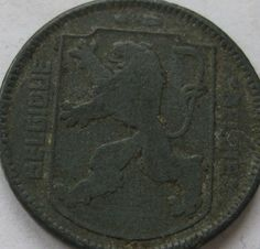 Belgium 1 Franc / Frank Coins Belgique Belgian