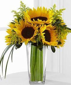 fresh sunflower arrangements - Google Search