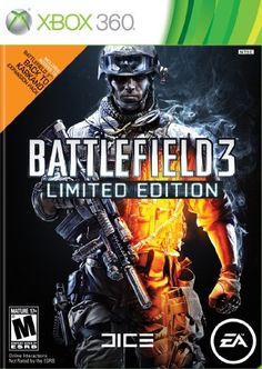 Battlefield 3  Limited Edition  Xbox 360 by Electronic Arts * Check this awesome product by going to the link at the image. Note:It is Affiliate Link to Amazon.
