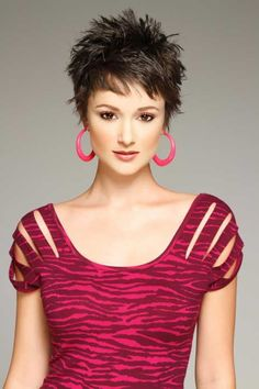 Image result for short spikey hairstyles female over 50