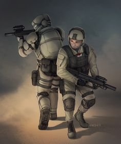 Battle Buddies are very important!  Commission - Battle Buddy by =Shimmering-Sword on deviantART