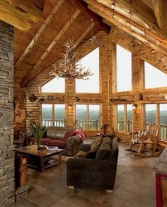 Love the big windows and high ceilings