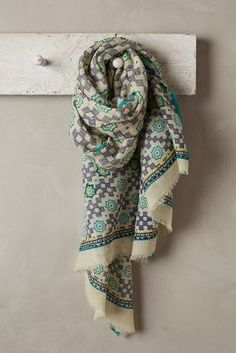 Anthropologie Alcantara Scarf #anthrofave