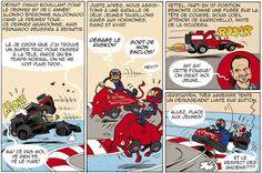 Continental Circus: Formula 1 em Cartoons - Abu Dhabi (Cire Box)