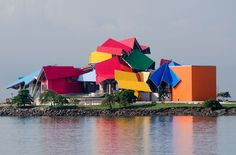 Frank Gehry biomuseum in Panama