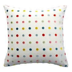 Adorable and colorful velvet pillow! Bring summer vibes in your interiors. Fresh and perfect for children's bedroom, guest room or an informal sett. Velvet Pillows, Throw Pillows, Italian Pattern, Italian Home, Feather Pillows, Down Feather, Blue Velvet, Home Collections, Pattern Art