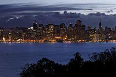 San Francisco Skyline by William Storax