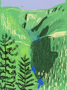 Annely Juda Fine Art | Exhibitions | David Hockney : The Yosemite Suite (2016)