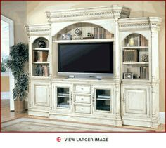 Parker House Entertainment Wall Unit Westminster PH-WES-600-5WS - Entertainment Center Furniture   Home Entertainment Centers   Contemporary Entertainment Center Furniture -
