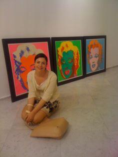 Andy Warhol - allestimento al PAN di Napoli. Aprile 2014 #andywarhol #artecontemporanea #contemporaryart