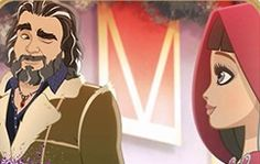 Cerise Hood's Dad at Ever After High! what episode is this? High E, Bratz Doll, Dolls, Mattel, Ever After High, Bad Wolf, Red Riding Hood, Book Characters, Monster High