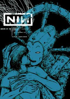 Nine Inch Nails 2005 Houston Silkscreen Concert Poster by Jermaine Rogers - Doodled Tour Posters, Band Posters, Music Posters, Art Music, Music Artists, Art Hippie, Vintage Concert Posters, Nine Inch Nails, Concert Flyer