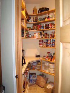 Corner pantry - appliance shelf?!