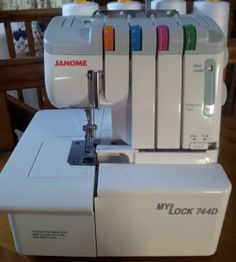 Serger 101.  Need to sell my Bernina and buy a Janome.