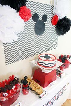 Fiesta de Cumpleaños Infantil… ¡Viva Mickey Mouse!