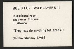 Mieko Shiomi, Music for Two Players II, 1963 Home Security Camera Systems, Security Cameras For Home, Hyun Kyung, Give Me Your Love, Moon In Leo, Indie Films, Born To Die, Friends Instagram, Teen Life