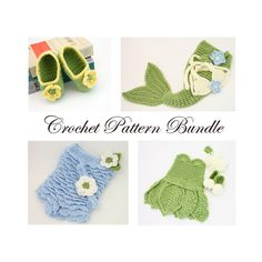"""Crochet Pattern Bundle Baby Girl Crochet Patterns by KnitsyCrochet, $17.00 USE COUPON CODE: """"PINNER10"""" FOR 10%off!"""