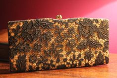 Vintage evening handbag purse or clutch bag. by Prettyvintagehouse