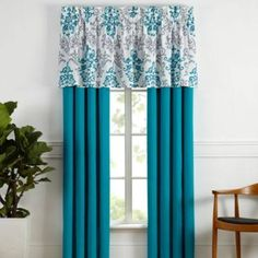 turquoise curtains - Google Search