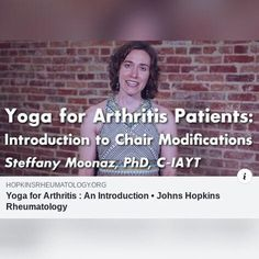 Yoga For Arthritis, Yoga For All, Johns Hopkins, Diabetes, Videos, Diabetic Living, Video Clip