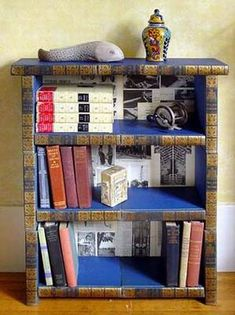 I am not sure if I like this. Cool idea though with old encyclopedias