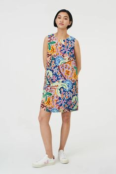 Paradiso Shift Dress. Online price $189.00. Dress in Print, Multi Lily Pulitzer, Online Price, Clothes, Dresses, Fashion, Outfits, Vestidos, Moda, Clothing