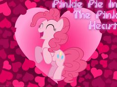 Pinkie Pie In The Pink Heart @Ramesses DeLeon DeLeon DeLeon Owes