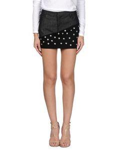 EMANUEL UNGARO Denim skirt. #emanuelungaro #cloth #dress #top #skirt #pant #coat #jacket #jecket #beachwear #