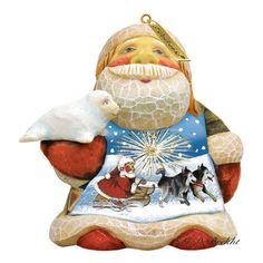 20 G Debrekht Christmas Ideas Santa Figurines Christmas Hand Painted