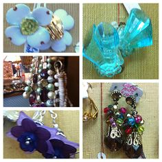 A sampling of our earrings. Stop by 124A Grand Ave Mars PA 16046 Wednesday-Saturday 12-5pm to get your own!!!
