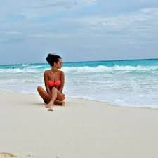 Just chill in' in a bikini summer photography, beach