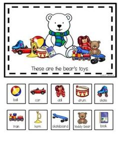 "FREE! Interactive Book: What Does the Bear Have? Can work on ""He has"" or possessive 'S. Repinned by www.preschoolspeechie.com"