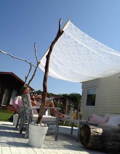 Romantischer Und Natürlicher Sonnenschutz Im Garten Für Mehr Schatten Im  Garten. Noch Mehr Tolle Ideen