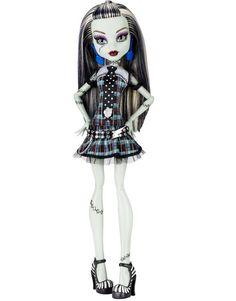 Monster High Original Ghouls Frankie Stein Doll http://thedollprincess.com/shop/monster-high-original-ghouls-frankie-stein-doll/