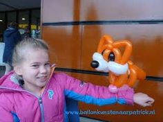 Image result for balloon twisting fox