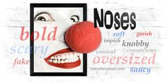 The nose as a word-tool can add depth to writing. This post provides more than 300 ways for writers to incorporate and describe noses. Writing Words, Writing Advice, Interactive Fiction, Grammar And Punctuation, A Writer's Life, Writers Notebook, Adventure Style, Writers And Poets, Words To Describe