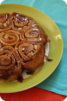 Vegan Apple Spice Cinnamon Rolls:  My boyfriend says he will MARRY ME if I make these.  So, there's that.