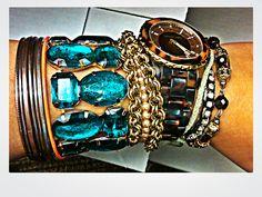 Friday's Bracelets. Pop of Color