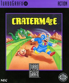 Cratermaze (USA) #retrogaming #turbografx