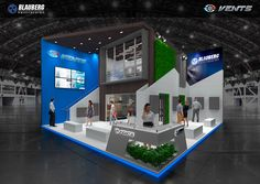 exhibition stand , Blauberg and Vents
