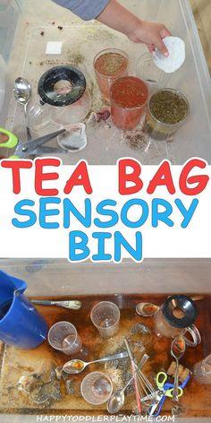 Tea Bag Sensory Bin – HAPPY TODDLER PLAYTIME