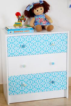 Ikea dresser Mod-Podge