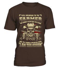 Farmer   Whisper back I am the storm  farmer shirt, farmer mug, farmer gifts, farmer quotes funny #farmer #hoodie #ideas #image #photo #shirt #tshirt #sweatshirt #tee #gift #perfectgift #birthday #Christmas