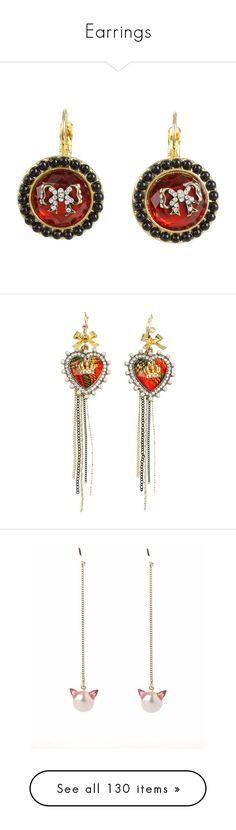 """""""Earrings"""" by nicole231 ❤ liked on Polyvore featuring jewelry, earrings, accessories, betsey johnson, jewels, women, drop earrings, beaded jewelry, beads jewellery and druzy stone earrings"""