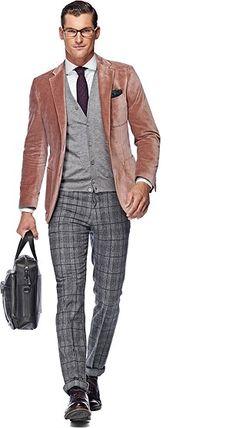 Jacket_Pink_Plain_Copenhagen_C707I