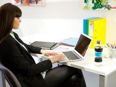 CMYK SQUEZZE Key in the office #waterbottle #glassbottle #healthy #hydration #water #office