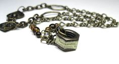 Industrial Chic Hex Nut Necklace